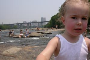 Asher at the River