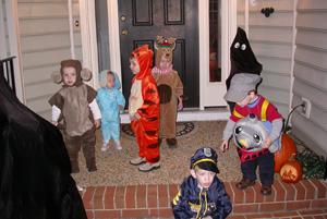 haloween crew